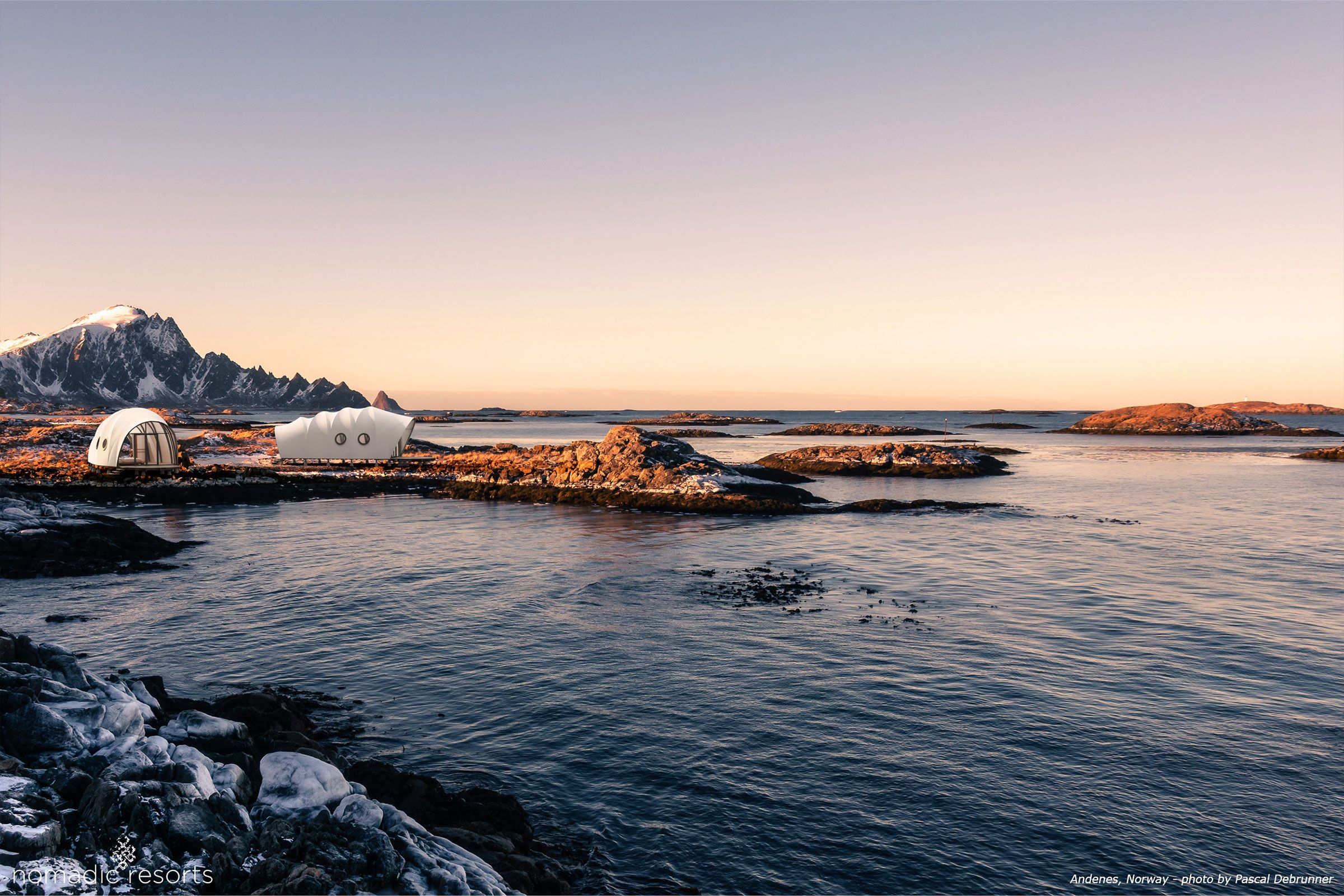 looper cocoon tent pod in andenes norway