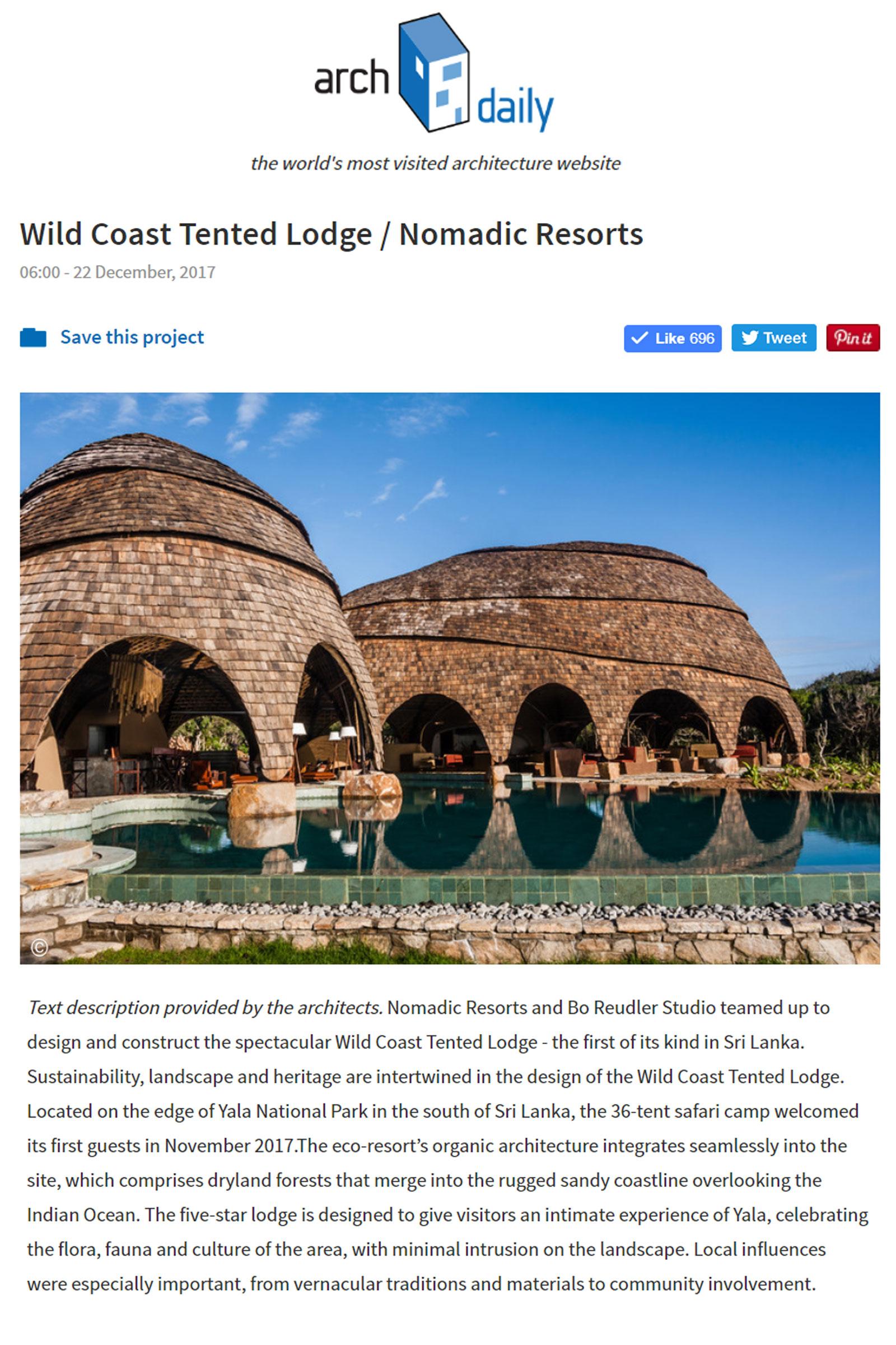 Nomadic ResortsNews | Nomadic Resorts