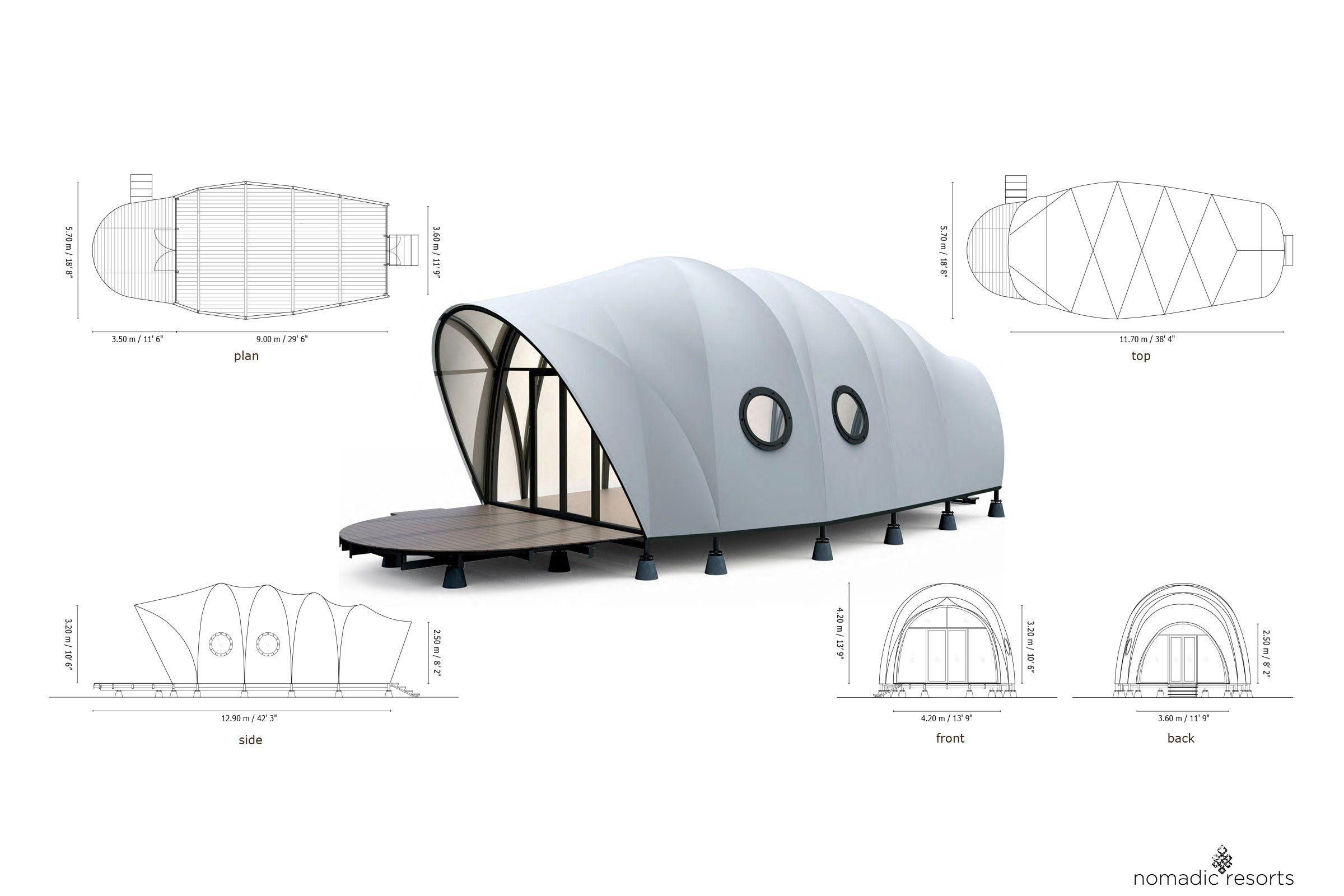 looper tent pod suite